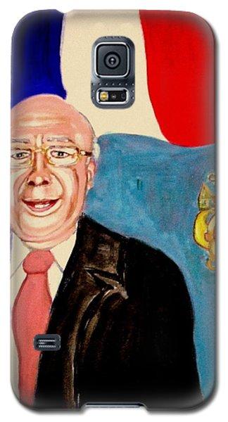 Monsieur Jean Claude Darque. Le Maire De Auchy Les Hesdin Galaxy S5 Case