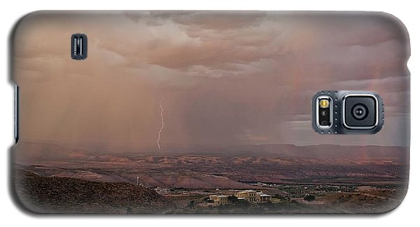 Monsoon Lightning And Rainbow Galaxy S5 Case