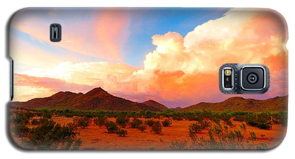 Monsoon Storm Sunset Galaxy S5 Case