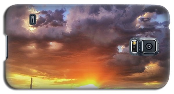 Galaxy S5 Case featuring the photograph Monsoon Sunset by Anthony Citro
