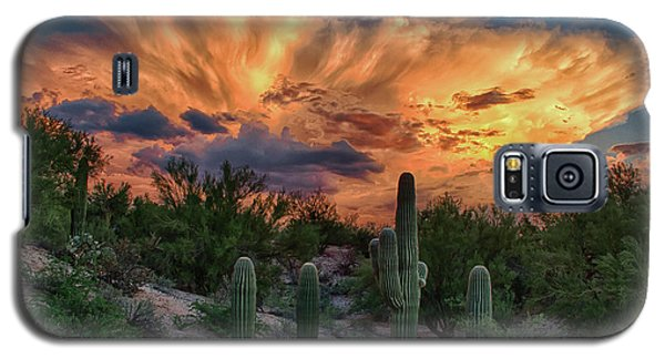 Monsoon Sunset Galaxy S5 Case