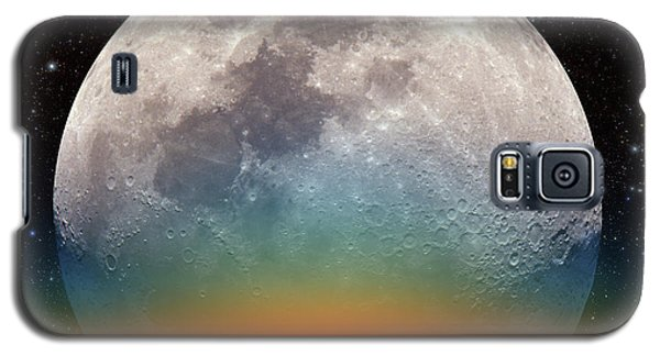 Galaxy S5 Case featuring the photograph Monster Moonrise by Larry Landolfi