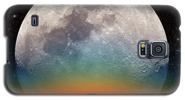 Monster Moonrise Galaxy S5 Case by Larry Landolfi