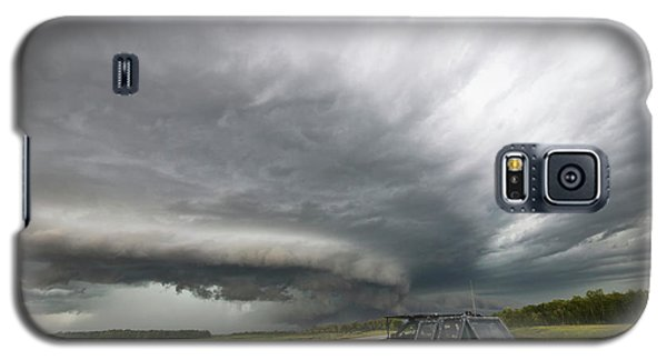 Monster Storm Near Yorkton Sk Galaxy S5 Case