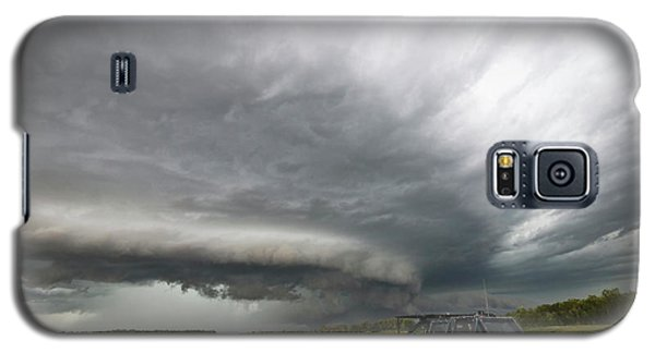Monster Storm Near Yorkton Sk Galaxy S5 Case