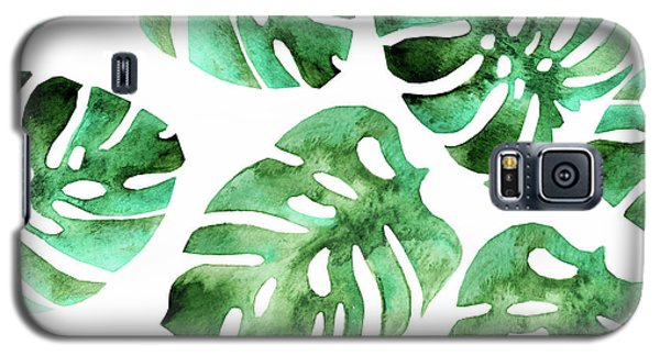 Monstera Galaxy S5 Case