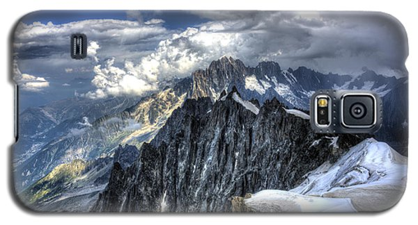 Mont Blanc Near Chamonix In French Alps Galaxy S5 Case by Shawn Everhart