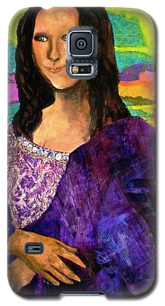 Montage Mona Lisa Galaxy S5 Case by Laura  Grisham