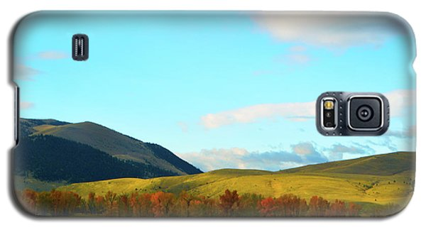 Montana Fall Trees Galaxy S5 Case