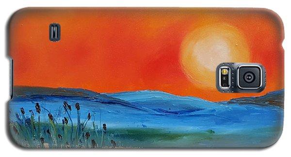 Montana Firery Sunset             49 Galaxy S5 Case