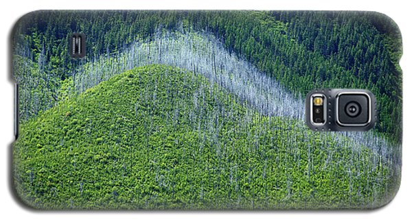 Montana Mountain Vista #4 Galaxy S5 Case