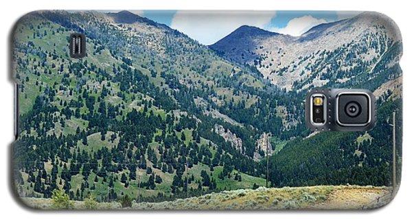 Montana Mountains Galaxy S5 Case