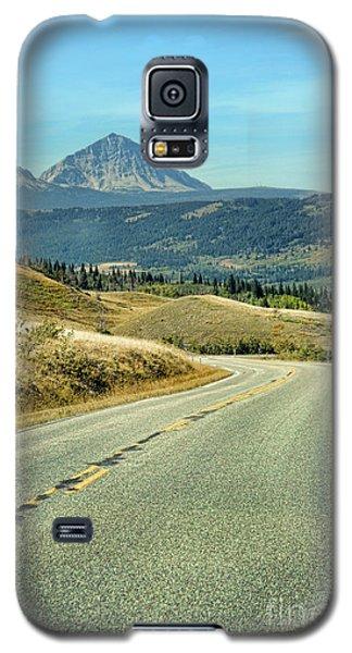 Galaxy S5 Case featuring the photograph Montana Road by Jill Battaglia