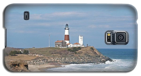 Montauk Lighthouse View From Camp Hero Galaxy S5 Case
