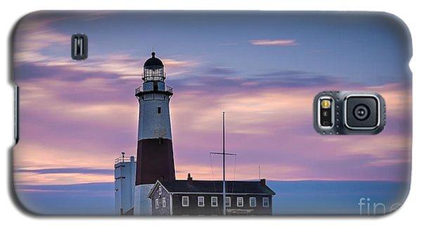 Montauk Lighthousepastel  Sunrise Galaxy S5 Case