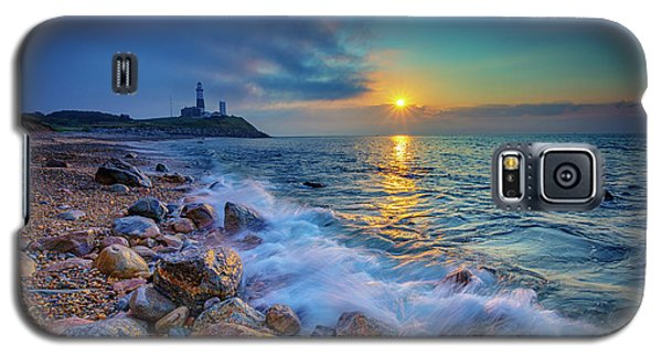 Montauk Sunrise Galaxy S5 Case