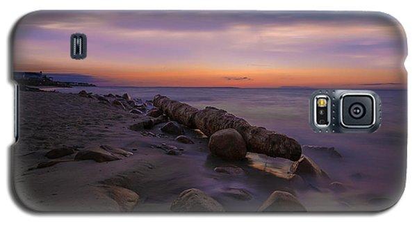 Montauk Sunset Boulders Galaxy S5 Case