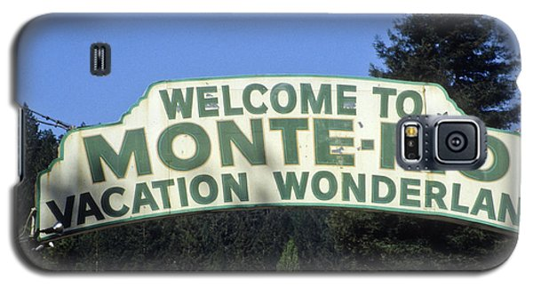 Monte Rio Sign Galaxy S5 Case