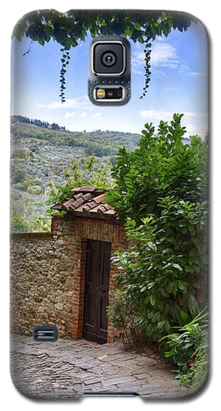 Montefioralle, Tuscany Galaxy S5 Case