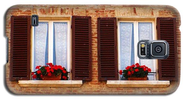Montepulciano Window Galaxy S5 Case