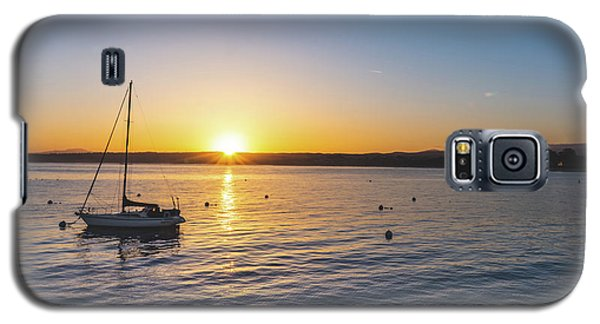 Monterey Bay Sailboat At Sunrise Galaxy S5 Case
