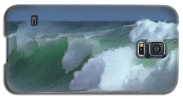 Monterey Surf Galaxy S5 Case by Walter Chamberlain