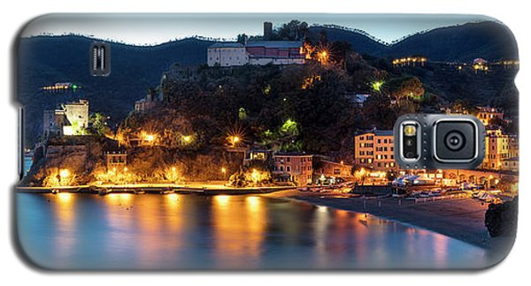 Galaxy S5 Case featuring the photograph Monterosso Al Mare At Twilight by Brian Jannsen