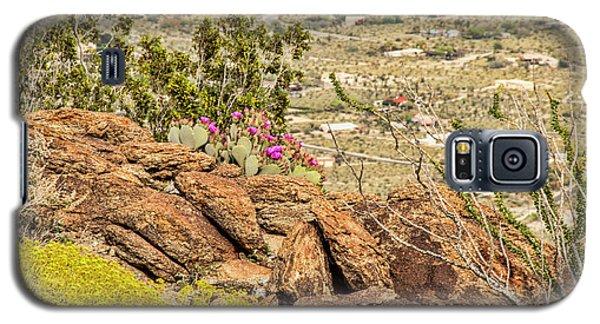 Montezuma Rd Cliff Side Flower Garden Galaxy S5 Case