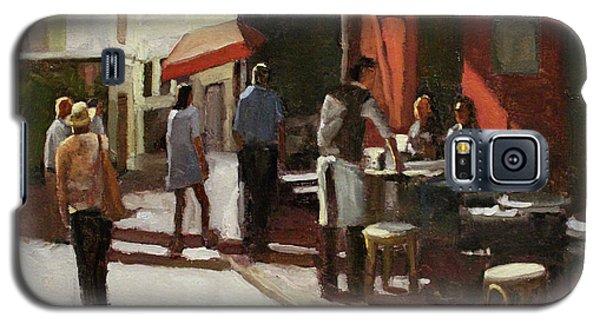 Montmarte Cafe Galaxy S5 Case