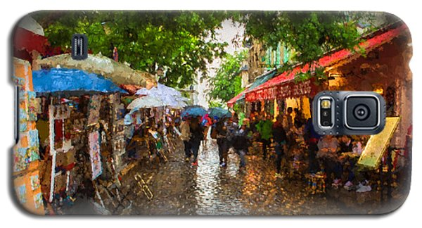 Montmartre Art Market, Paris Galaxy S5 Case