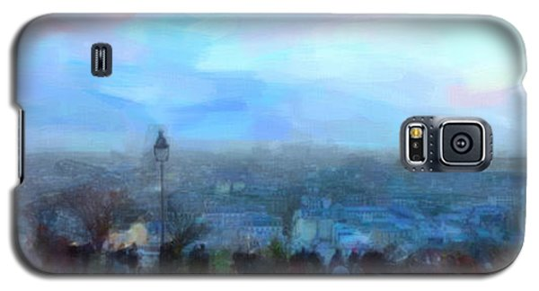 Montmartre From The Butte Galaxy S5 Case by Chris Armytage