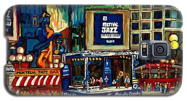 Montreal International Jazz Festival Galaxy S5 Case