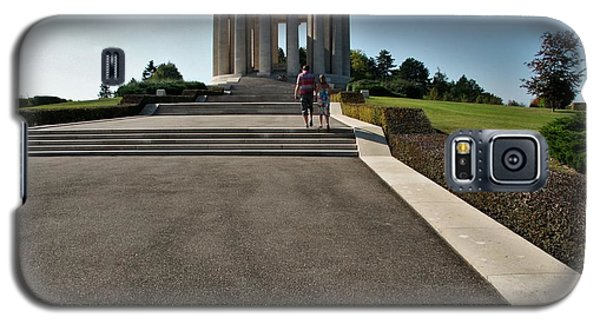 Galaxy S5 Case featuring the photograph Montsec American Monument by Travel Pics