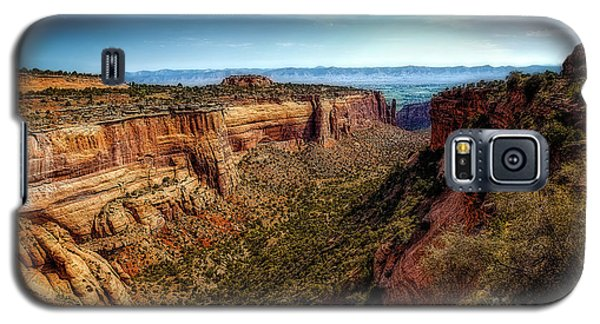 Monument Canyon And Saddlehorn Galaxy S5 Case