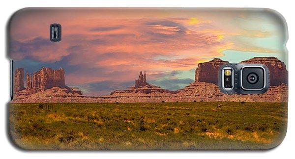 Monument Valley Landscape Vista Galaxy S5 Case