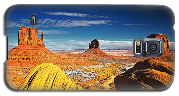 Monument Valley Mittens Utah Usa Galaxy S5 Case