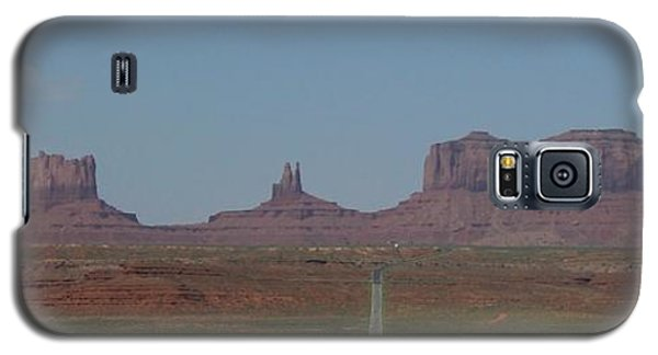 Galaxy S5 Case featuring the photograph Monument Valley Navajo Tribal Park by Christopher Kirby