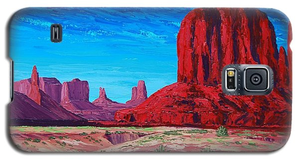 Monument Valley Storm Galaxy S5 Case