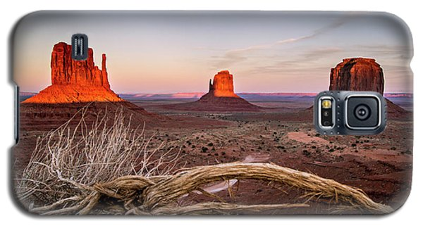 Monument Valley Sunset Galaxy S5 Case