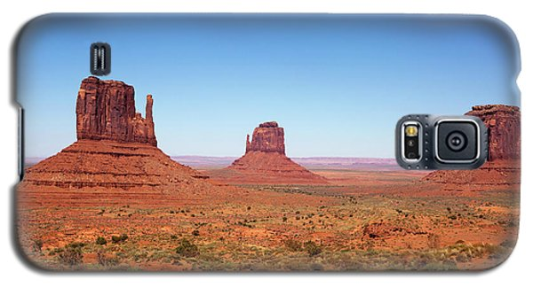 Monument Valley Utah The Mittens Galaxy S5 Case