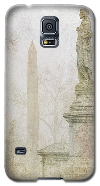 Galaxy S5 Case featuring the photograph Monumental Fog by Heidi Hermes