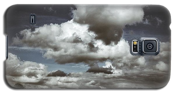 Galaxy S5 Case featuring the photograph Moodiness In The Clouds by Karen Stahlros