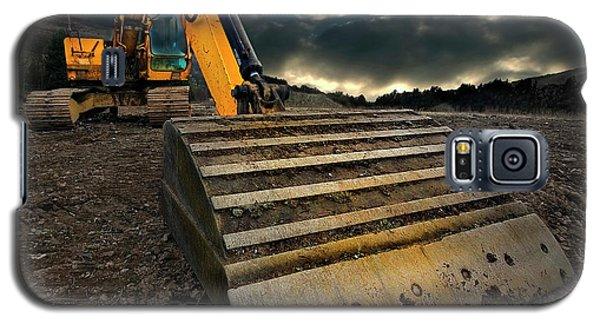 Moody Excavator Galaxy S5 Case