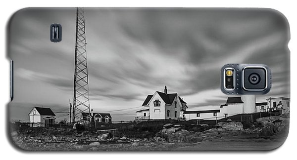 Moody Sky At Eastern Point Lighthouse Galaxy S5 Case