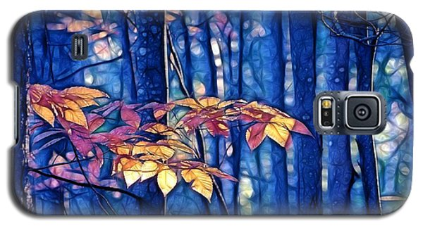 Galaxy S5 Case featuring the photograph Moody Woods by Aimelle