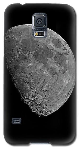 Galaxy S5 Case featuring the photograph Moon 67 Percent Fr23 by Mark Myhaver