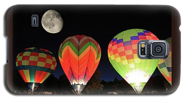 Moon And Balloons Galaxy S5 Case