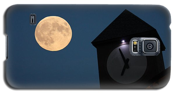 Moon And Clock Tower Galaxy S5 Case