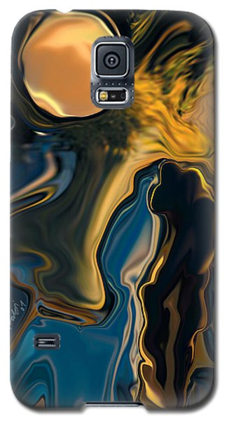 Moon And Fiance Galaxy S5 Case by Rabi Khan