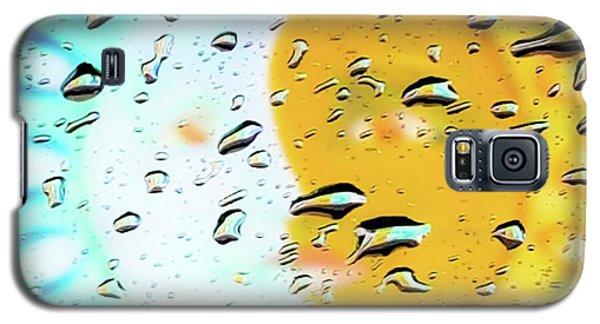 Moon And Sun Rainy Day Windowpane Galaxy S5 Case